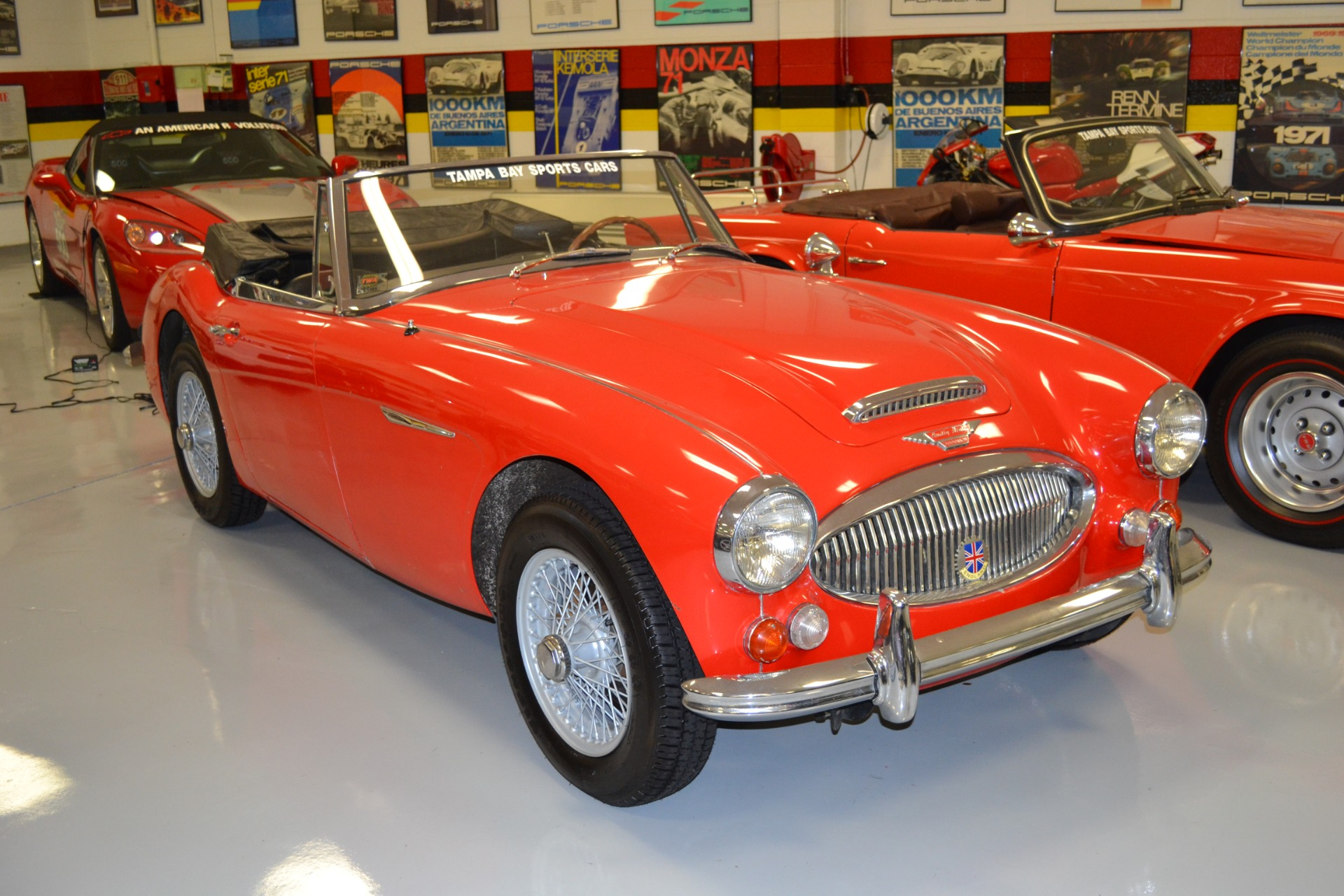 1967 Austin Healey 3000 Convertible For Sale in Pinellas Park FL