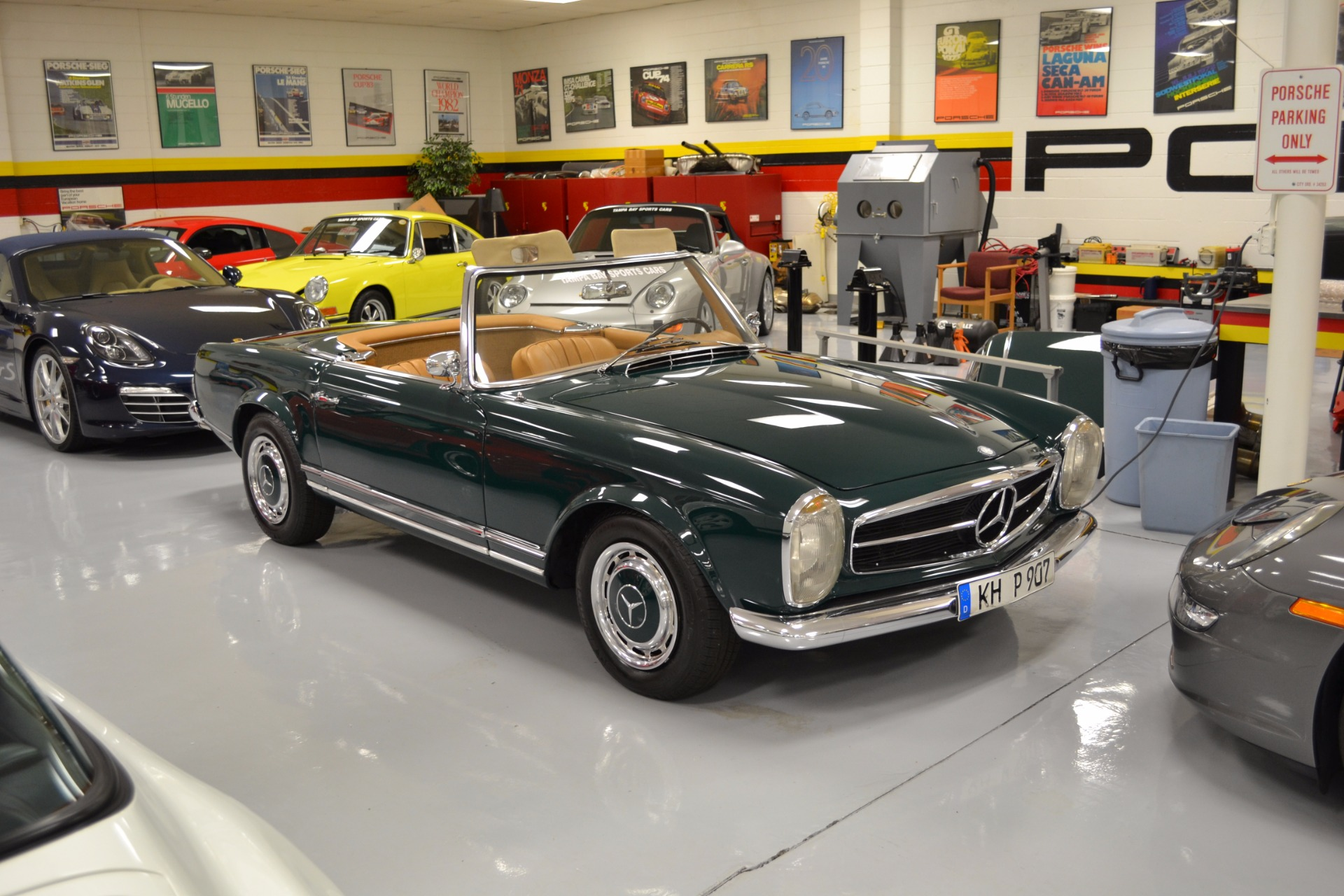 1967 Mercedes-Benz 250sl For Sale in Pinellas Park, FL 1149 | Tampa ...