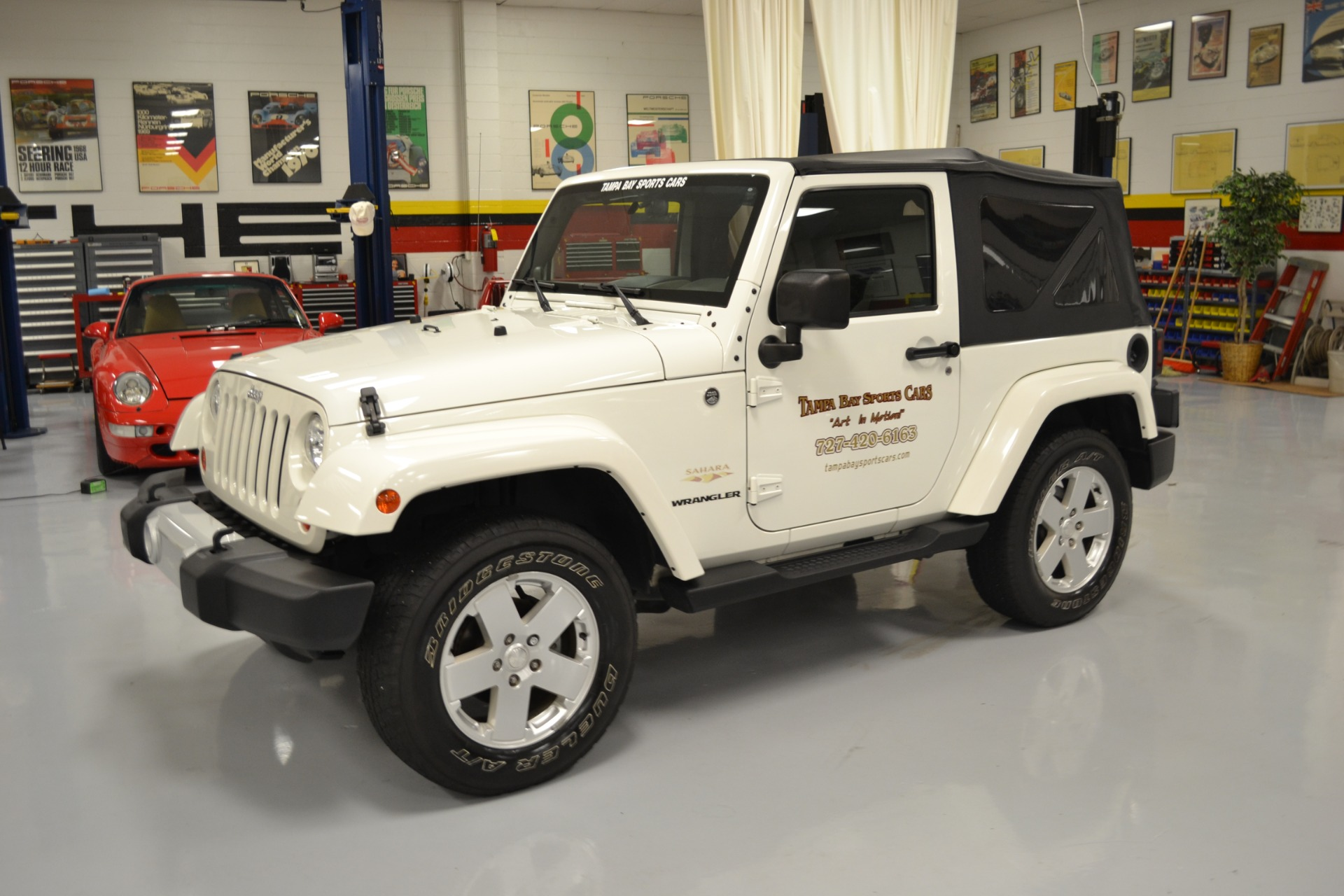 2010 Jeep Wrangler Sahara For Sale in Pinellas Park FL 1061